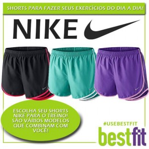 shorts nike é na BestFit